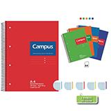 Cuaderno Campus A4 cuadriculado 60g 160 hojas