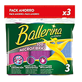 Ballerina baieta de microfibra.