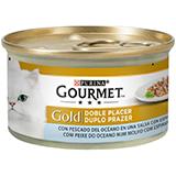 Gourmet gold doble placer peces del océano