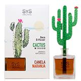 Ambientador difusor cactus canyella-taronja.