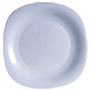 Carine plat pla 26cm blanc Luminarc.
