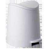 Cubo de baño 3L blanco 4470001