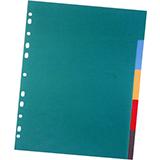 Separadores opacos folio 5u