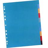 Separadores opacos folio 10u
