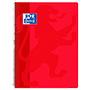 Cuaderno Oxford folio cuadriculado 90g rojo
