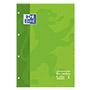 Recambio Oxford A4 cuadriculado 90g verde 80 hojas