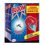 Bloom elèctric aparell + 10 pastilles mosquits