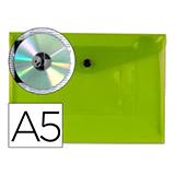 Carpeta csp broche A5 verde 28982