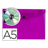 Carpeta csp broche A5 violeta 28986
