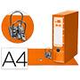 Archivador liderpapael + caja A4 naranja