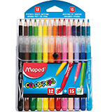 Colores y rotuladores multipack Maped 27u