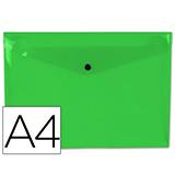 Carpeta csp broche a4 verde 29319