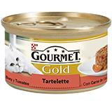 Gourmet gold tarrina buey y tomates