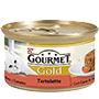 Gourmet gold terrina bou i tomaquets.