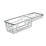 Cistella metal·litzada rectangular 66064.