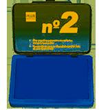 Tampón Makro N2 8x12 azul