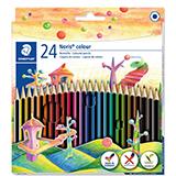 Colores staedtler madera 24u
