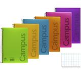 Cuaderno Campus A4 cuadriculado pp 90g 80 hojas