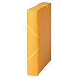 Caixa projecte A4 5 groc