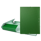 Caixa projecte A4 5 verd