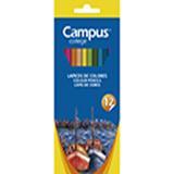 Colores campus madera hexagonales 12u