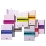 Recambio MRius A4 cuadriculado 70g fúcsia 100hojas