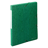 Caixa projecte A4 3 verd.