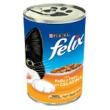 Felix fantas pollo y pato.