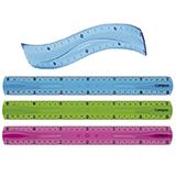 Regla campus flexible 30cm