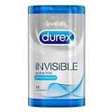 Durex invisible sensible.
