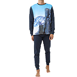 Pijama national hombre talla L 54801