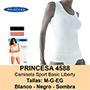 Samarreta princesa 4588 blanca talla l.