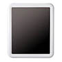 Mirall rectangular blanc 44307
