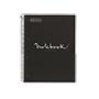 Cuaderno MRius A4 cuadriculado 90g negro 80 hojas