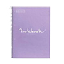 Cuaderno MRius A4 cuadriculado 90g lavanda 80H