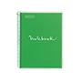 Cuaderno MRius A4 cuadriculado 90g pp verde 80HQua