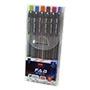 Bolígrafo unimax colores 6 unidades M02225