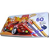 Colores bruynzeel en caja metal 60 unidades 028015