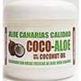Crema hidratant d'aloe vera i oli de coco