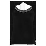 Camiseta cotonella GD135 negra talla 4/L/42