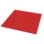 Plats quadrats 23cm vermell