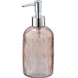 Dosificador de sabó retro rosa 23613