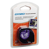 Dymo tag cinta plàstic 4mx12mm