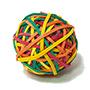 Anells de goma colors 105 gr M01147.