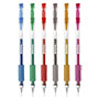 Bolígrafo kores bg4 glitter colores 6u 30211999