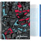 Cuaderno skate A4 140 hojas 16501958