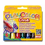 Témperas one Playcolor 6u