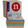 Notas adhesivas colores 9X9X5 209972