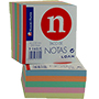 Notes adhesives colors 9X9X5 209972