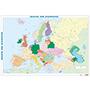 Poster mapa de Europa 70x100cm